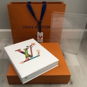 NWT Louis Vuitton Collaborations Book